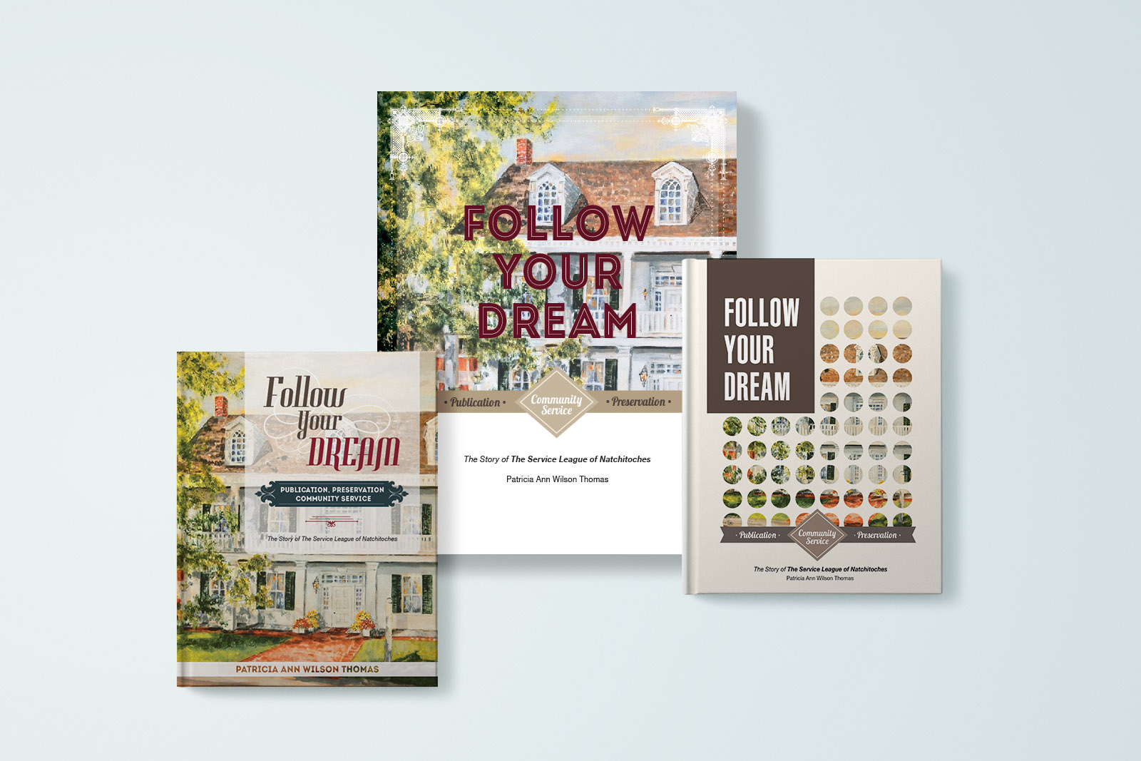 Multiple Design Options for The Book Cover