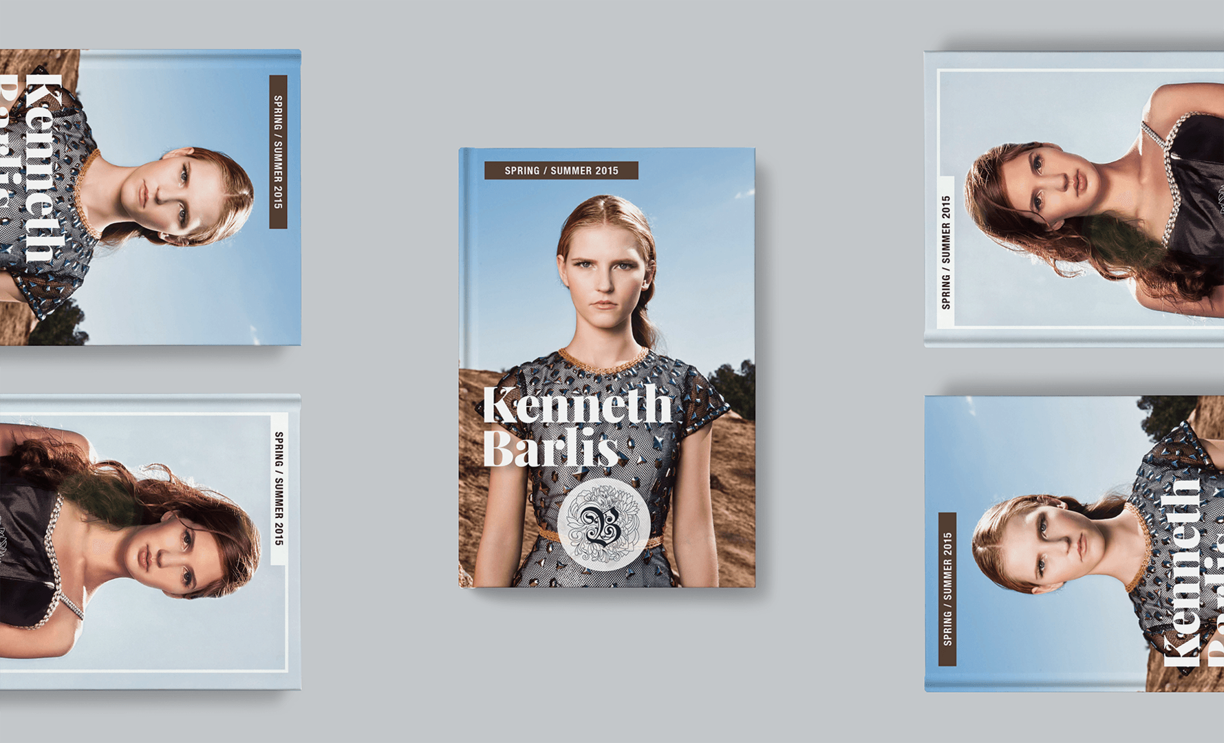 Luxury Fashion Brand Lookbook Covers