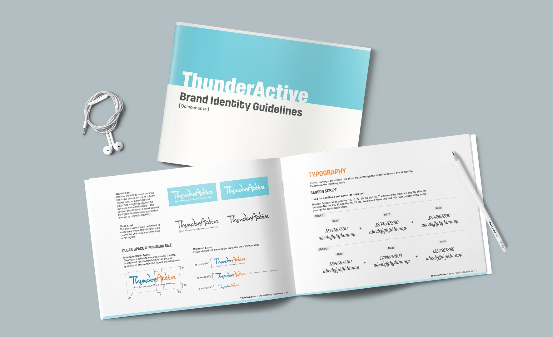 ThunderActive Branding guidelines